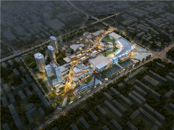 世界知名的凯里森建筑事务所的中西梦幻团队,以星空为主题,在梅溪新