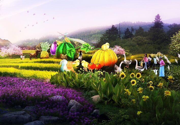 壁纸 成片种植 风景 花 植物 种植基地 桌面 708_491